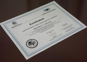 ASSE/IAPMO/ANSI 12080, Professional Qualifications Standard for Legionella Water Safety and Management Personnel