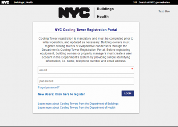 Is your Cooling Tower in compliance with NYC's recent changes to the Legionella bacteria regulations?